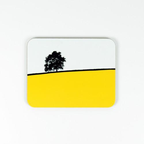 Yellow Hawkshead Coaster
