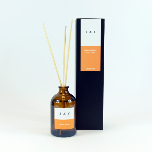 Ginger & Walnut Reed Diffuser by Jacky Al-Samarraie