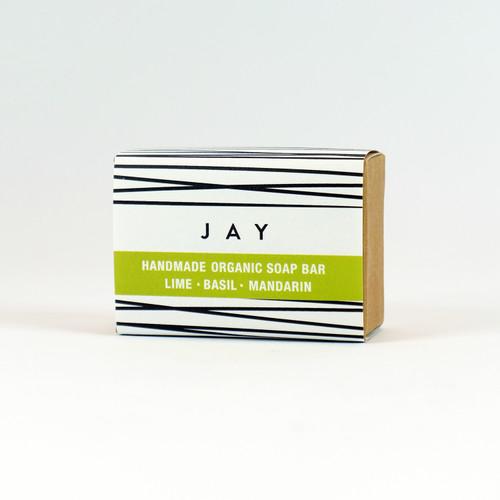 JAY - Lime, Basil & Mandarin organic soap bay by Jacky Al-Samarraie