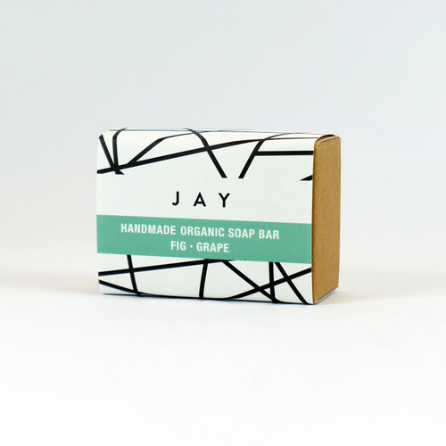 Fig & Grape Organic Soap Bar - Jacky Al-Samarraie