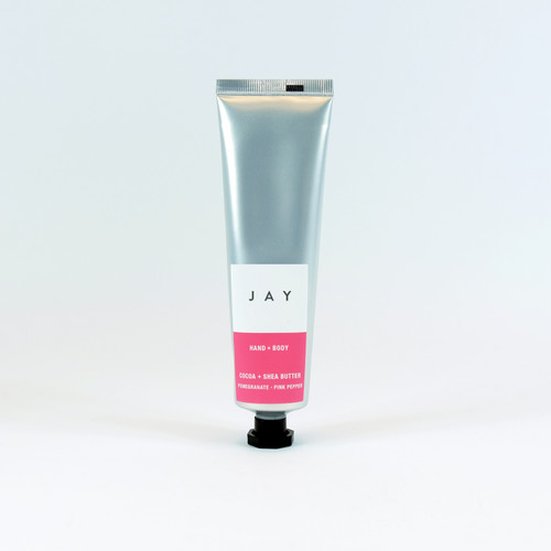 Cocoa & Shea Hand & Body Butter - Pomegranate & Pink Pepper, Jacky Al-Samarraie