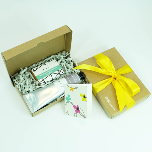 Fig Soap & hand and body butter gift box by Jacky Al-Samarraie
