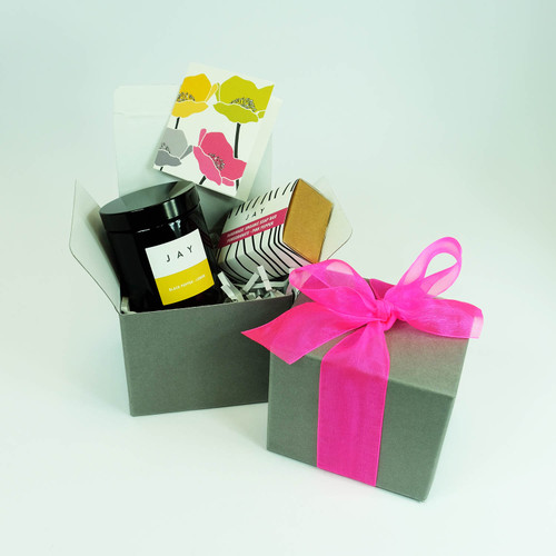Gift Box - Candle & Soap  by Jacky Al-Samarraie