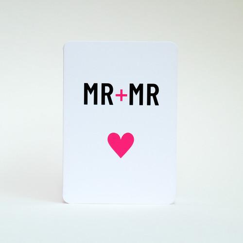 Male same sex special occasion card by Jacky Al-Samarraie