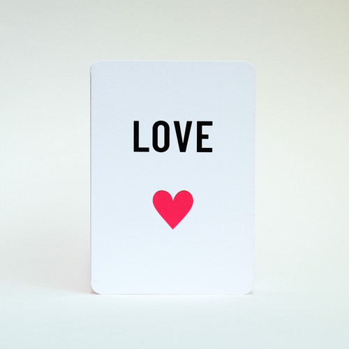 Love card by Jacky Al-Samarraie