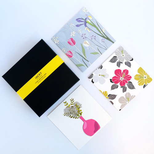 Floral Greeting Card Box Set by Jacky Al-Samarraie