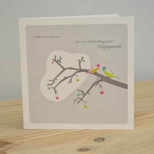 Jacky Al-Samarraie Little Bird Engagement Card