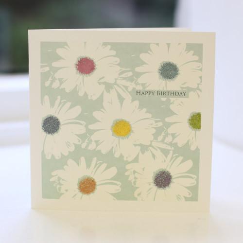 Jacky Al-Samarraie Daisy Birthday Card
