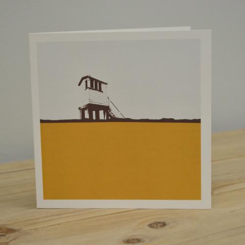 Jacky Al-Samarraie Lindisfarne Causeway Greeting Card