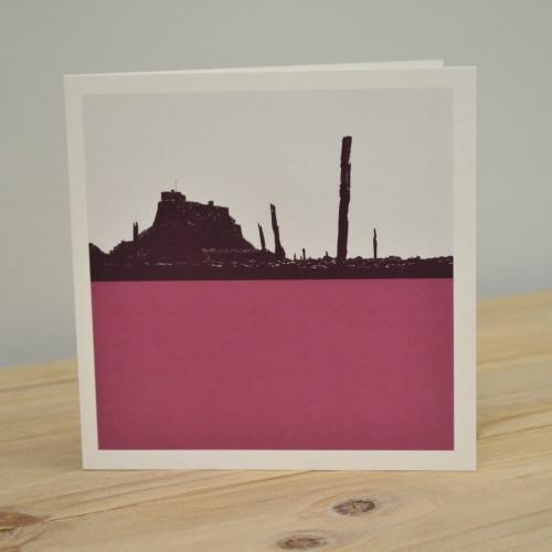 Jacky Al-Samarraie Lindisfarne Greeting Card