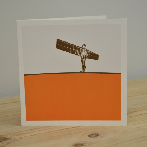 Jacky Al-Samarraie Angel of the North Greeting Card