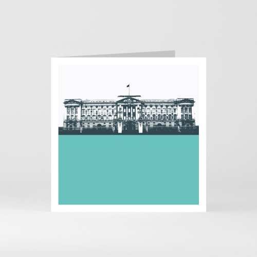 Jacky Al-Samarraie London Greeting Card of Buckingham Palace