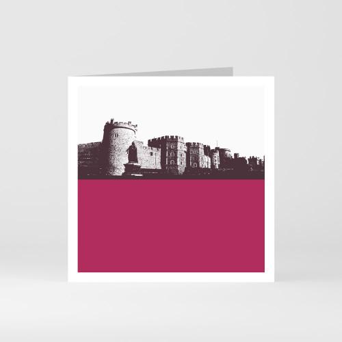 Jacky Al-Samarraie London Greeting Card of Windsor Castle at The Art Rooms
