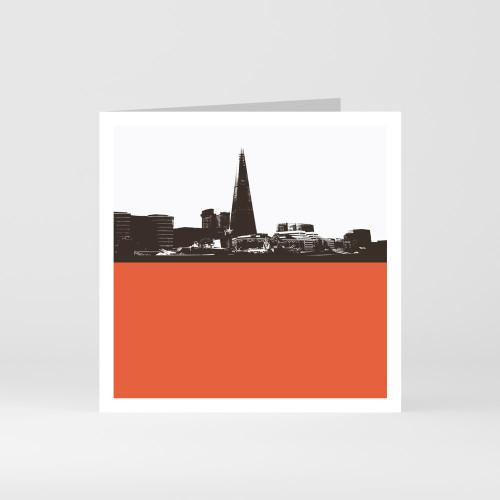 Jacky Al-Samarraie London Greeting Card of The Shard