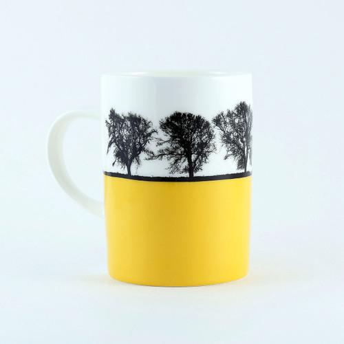 Yorkshire Landscape mug, Masham North Yorkshire by Jacky Al-Samarraie