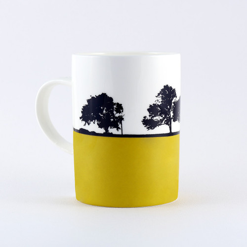 Newcastle landscape mug, by Jacky Al-Samarraie