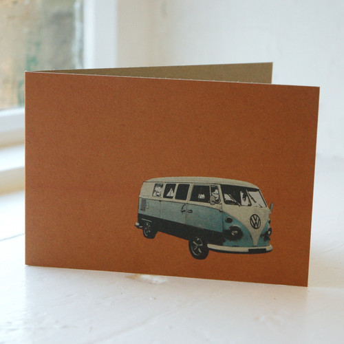 Jacky Al-Samarraie Camper Van Greeting Card