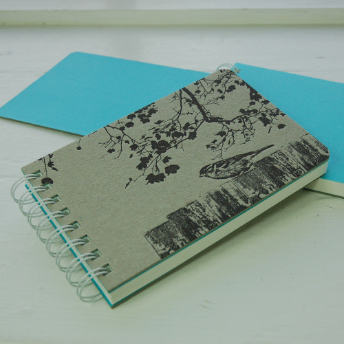 Jacky Al-Samarraie Garden Bird Notebook