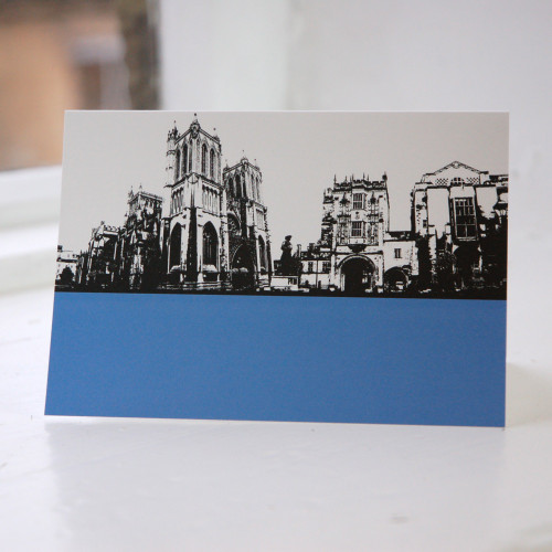 Jacky Al-Samarraie Bristol Cathedral Greeting Card