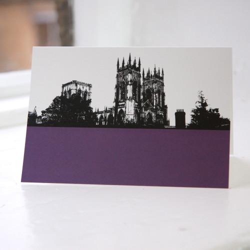 Jacky Al-Samarraie York Minster Greeting Card