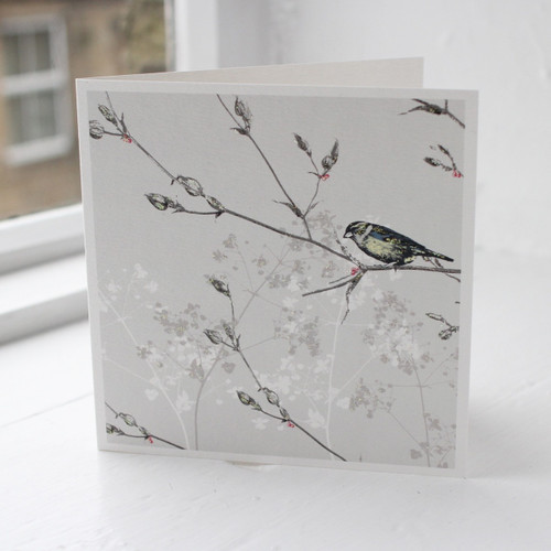 Jacky Al-Samarraie Bird Garden Greeting Card