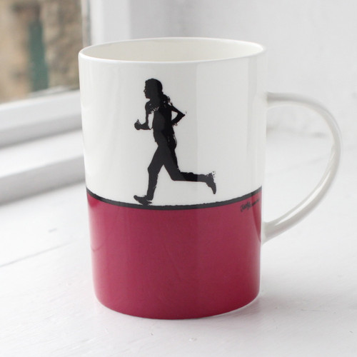Jacky Al-Samarraie Running Bone China Mug