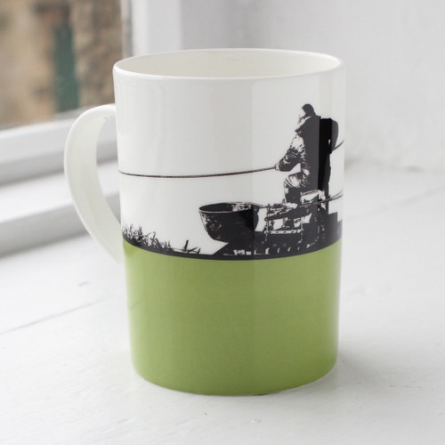 Jacky Al-Samarraie Fishing Bone China Mug