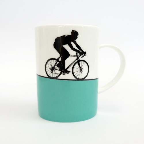 Jacky Al-Samarraie Cycling Bone China Mug