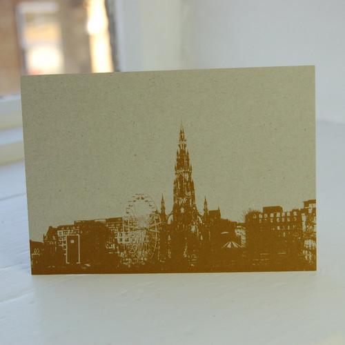 Jacky Al-Samarraie Scott Memorial Postcard