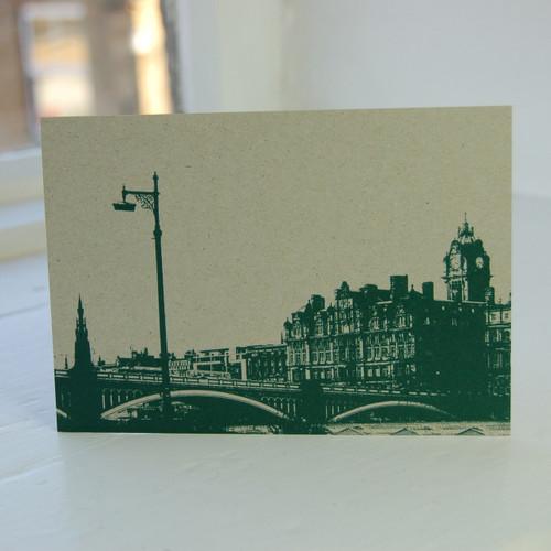 Jacky Al-Samarraie North Bridge Postcard