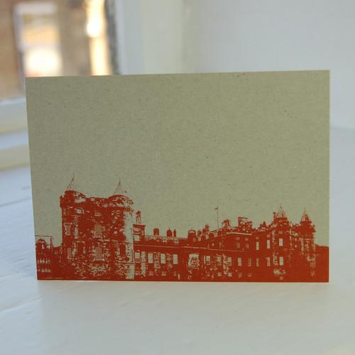 Jacky Al-Samarraie Palace of Holyroodhouse Postcard