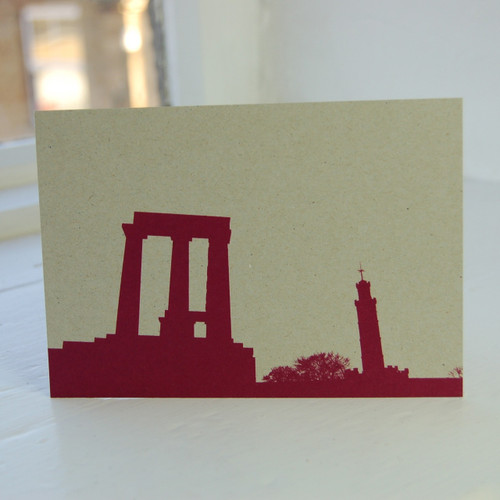 Jacky Al-Samarraie National & Nelsons Monument Postcard