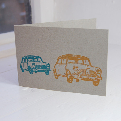 Jacky Al-Samarraie Mini Letterpress Greeting Card
