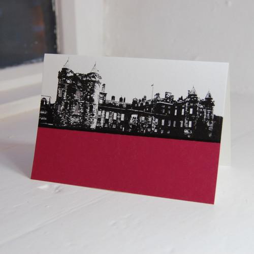 Jacky Al-Samarraie Palace of Holyroodhouse Greeting Card