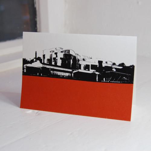 Jacky Al-Samarraie Scottish Parliament Greeting Card