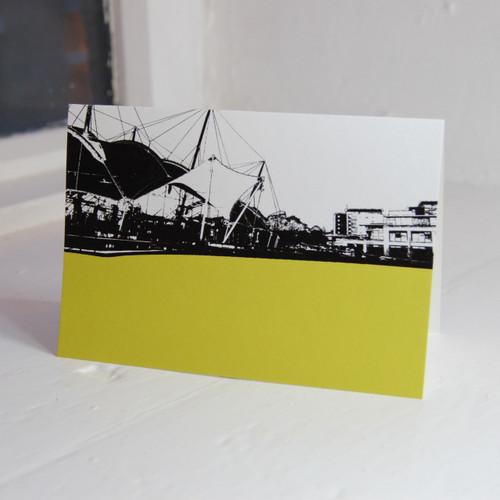 Jacky Al-Samarraie Our Dynamic Earth Greeting Card