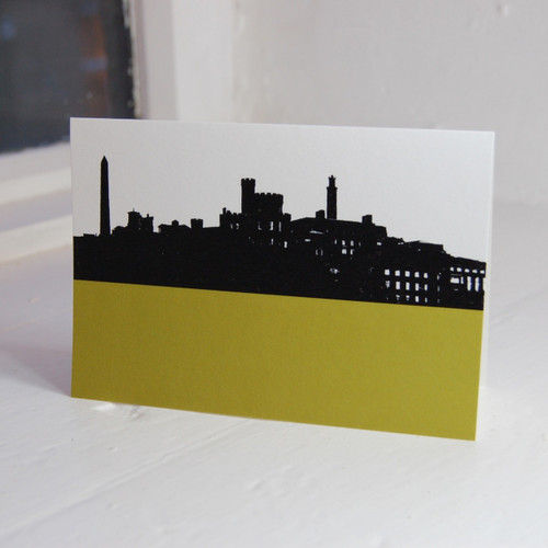 Jacky Al-Samarraie Calton Hill & St. Andrews House Greeting Card