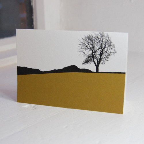 Jacky Al-Samarraie Arthur's Seat from Calton Hill Greeting Card