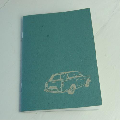 Jacky Al-Samarraie Austin A40 Notebook