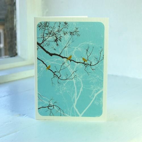 Jacky Al-Samarraie Oriental Turquoise Greeting Card