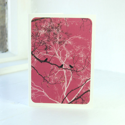 Jacky Al-Samarraie Oriental Raspberry Greeting Card