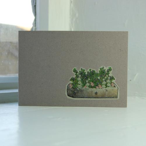 Jacky Al-Samarraie Trough Greeting Card