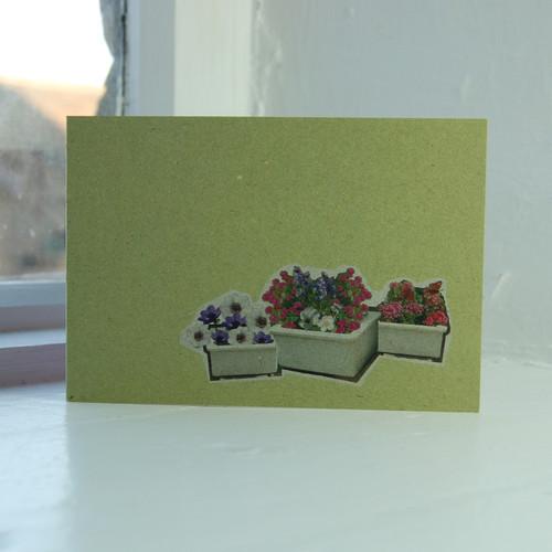 Jacky Al-Samarraie Three Sinks Greeting Card