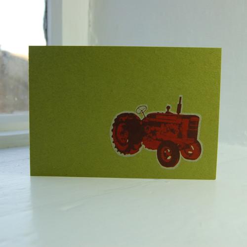 Jacky Al-Samarraie Tractor Greeting Card