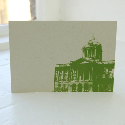 Jacky Al-Samarraie Liverpool Town Hall Postcard