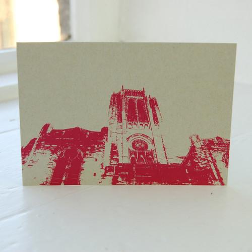 Jacky Al-Samarraie Anglican Cathedral Postcard