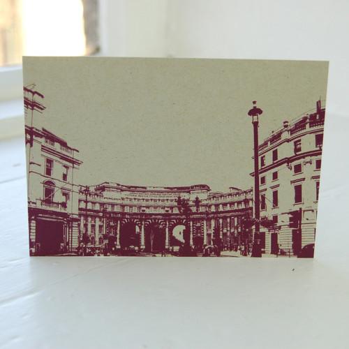 Jacky Al-Samarraie Admiralty Arch Postcard