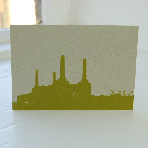 Jacky Al-Samarraie Battersea Power Station Postcard