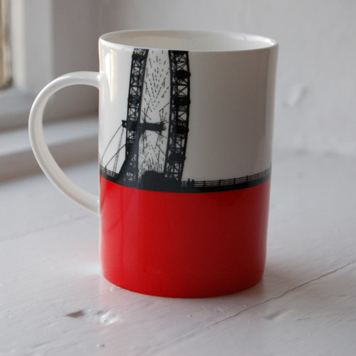 Jacky Al-Samarraie London Eye Bone China Mug