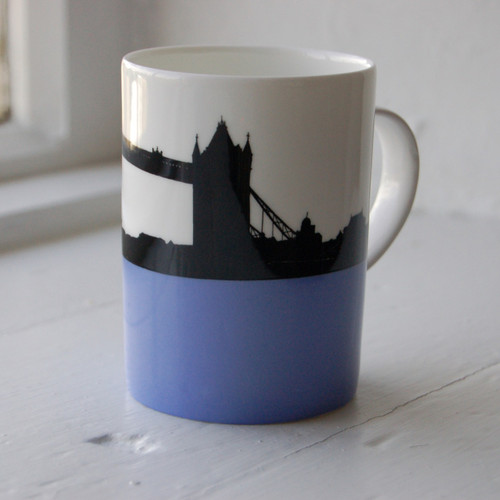 Jacky Al-Samarraie Tower Bridge Bone China Mug